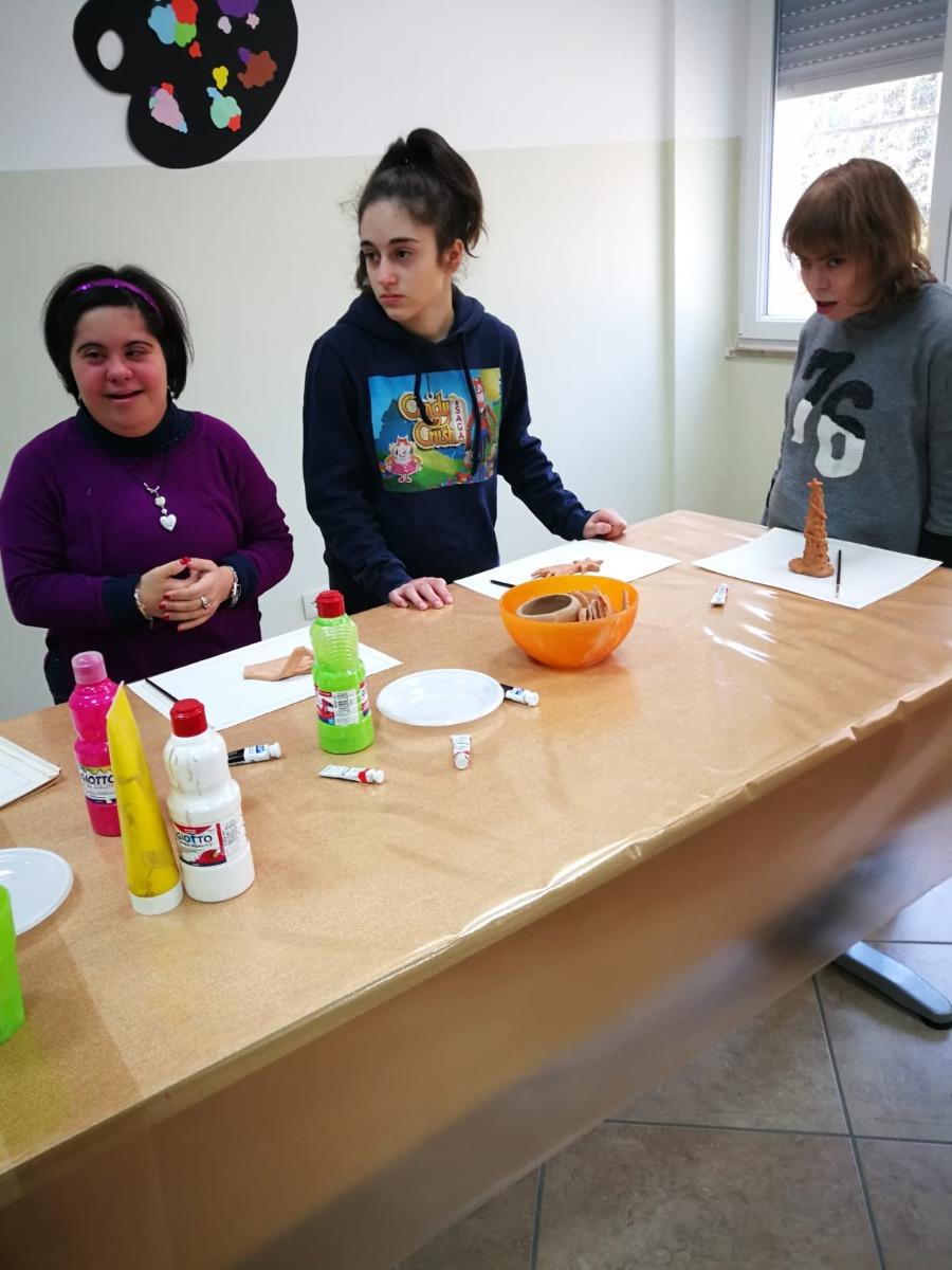 Laboratorio di arte Terapia