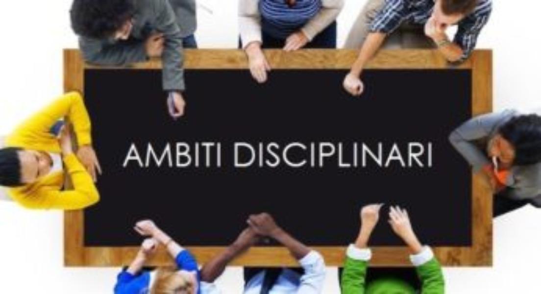 Avv. 262  Ambiti disciplinari e Dipartimenti