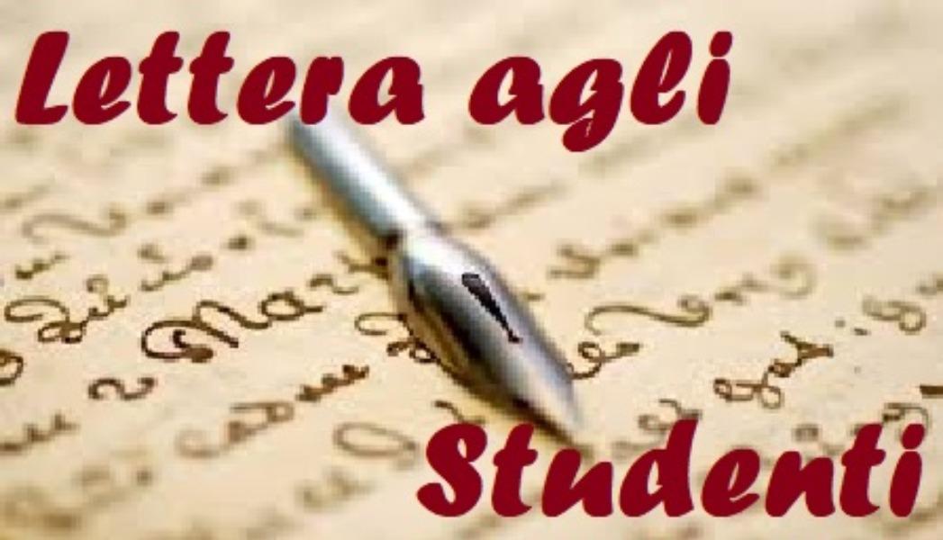 Lettera agli studenti